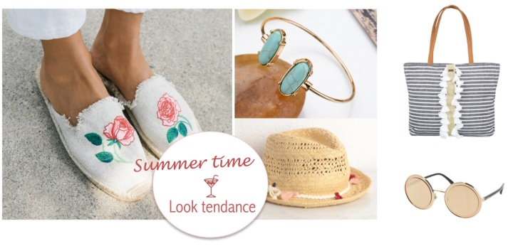 Summer Time Look Tendance Banner