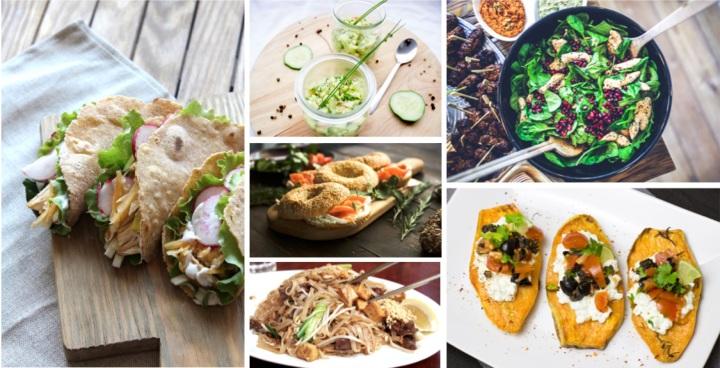 6 repas sains à emporter pourl'été