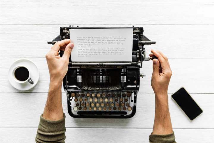 écrivain homme