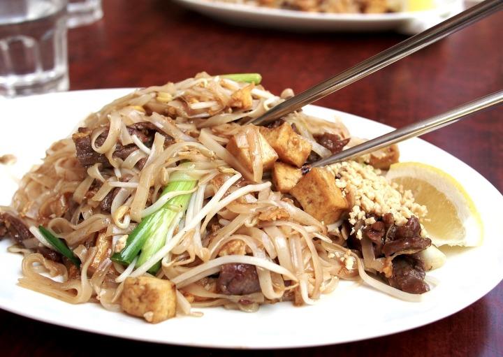 nouilles façon thai
