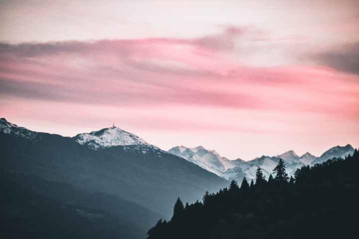 paysage canada montagnes