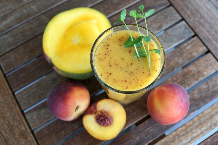 smothie-peche-mangue