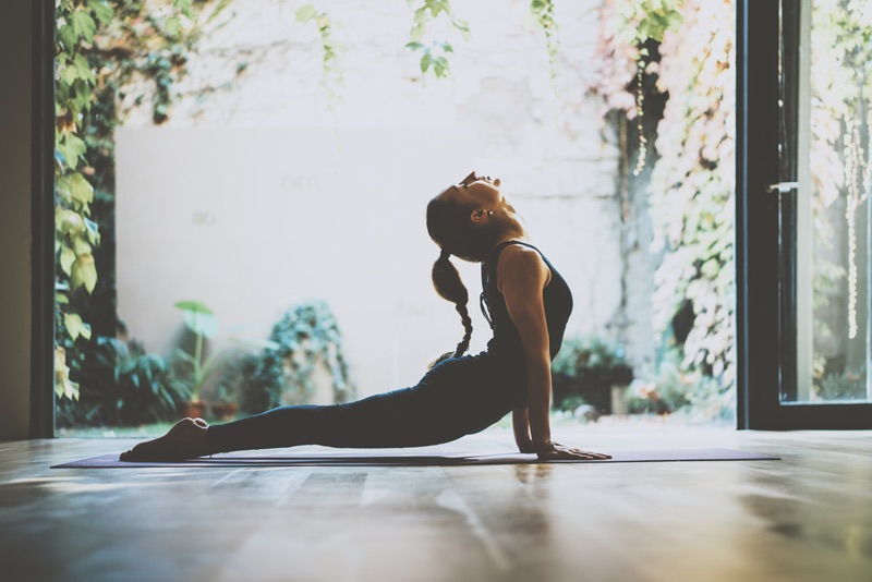 Une séance de yoga pour gérer son stress