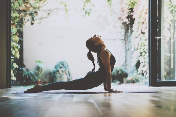 Une séance de yoga pour gérer sonstress