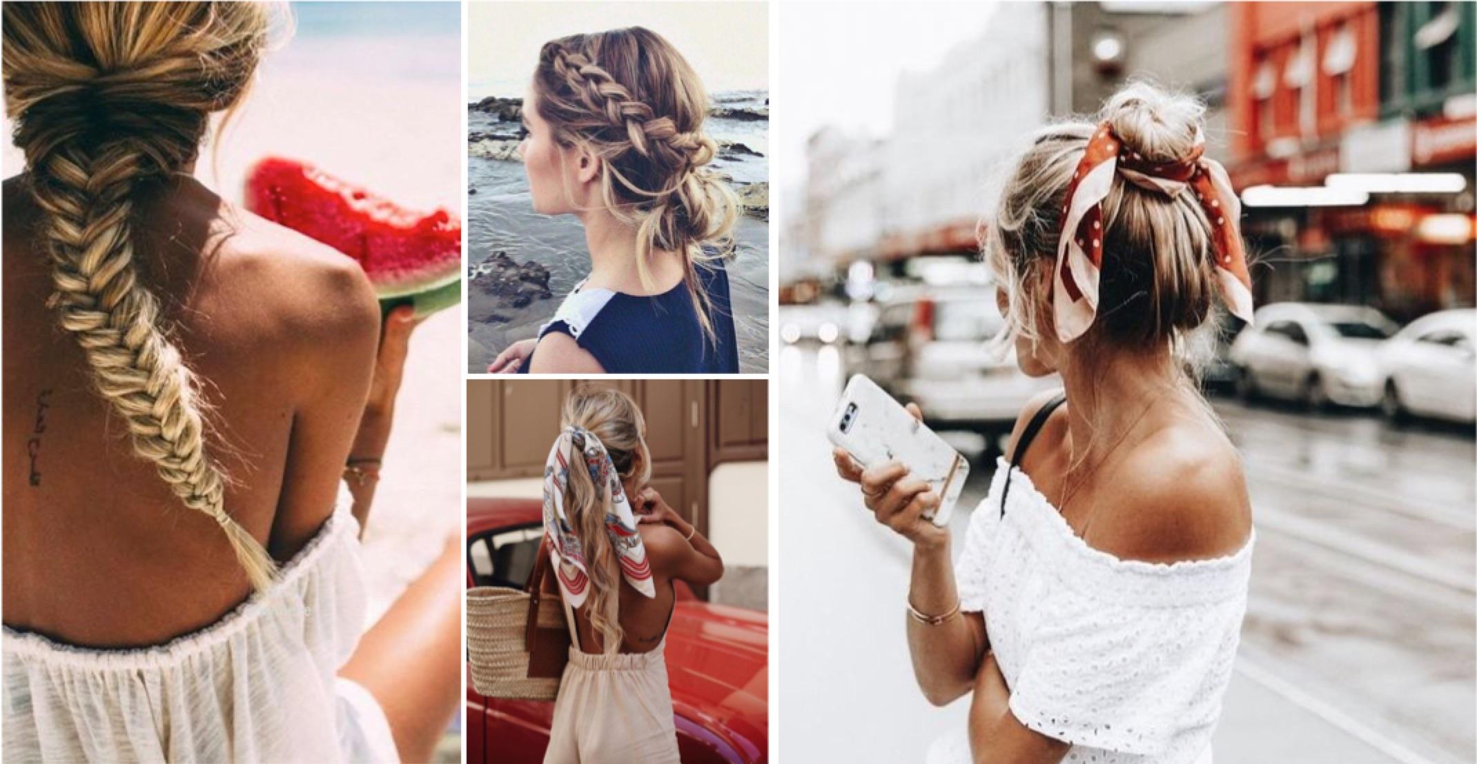 5 coiffures branchées pour l'été