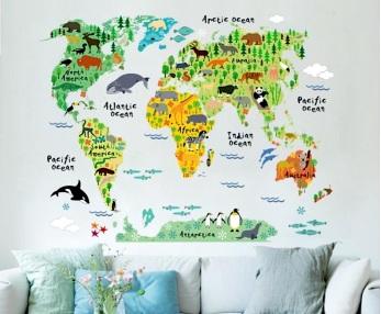 Carte du monde enfants cdiscount