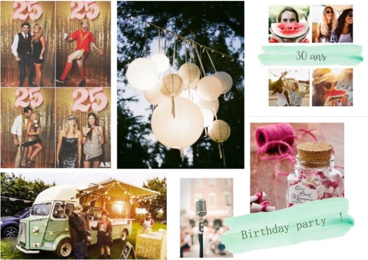 idees pour organiser son anniversaire