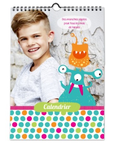 Calendrier Planet Photo Couverture