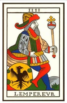 L empereur tarot