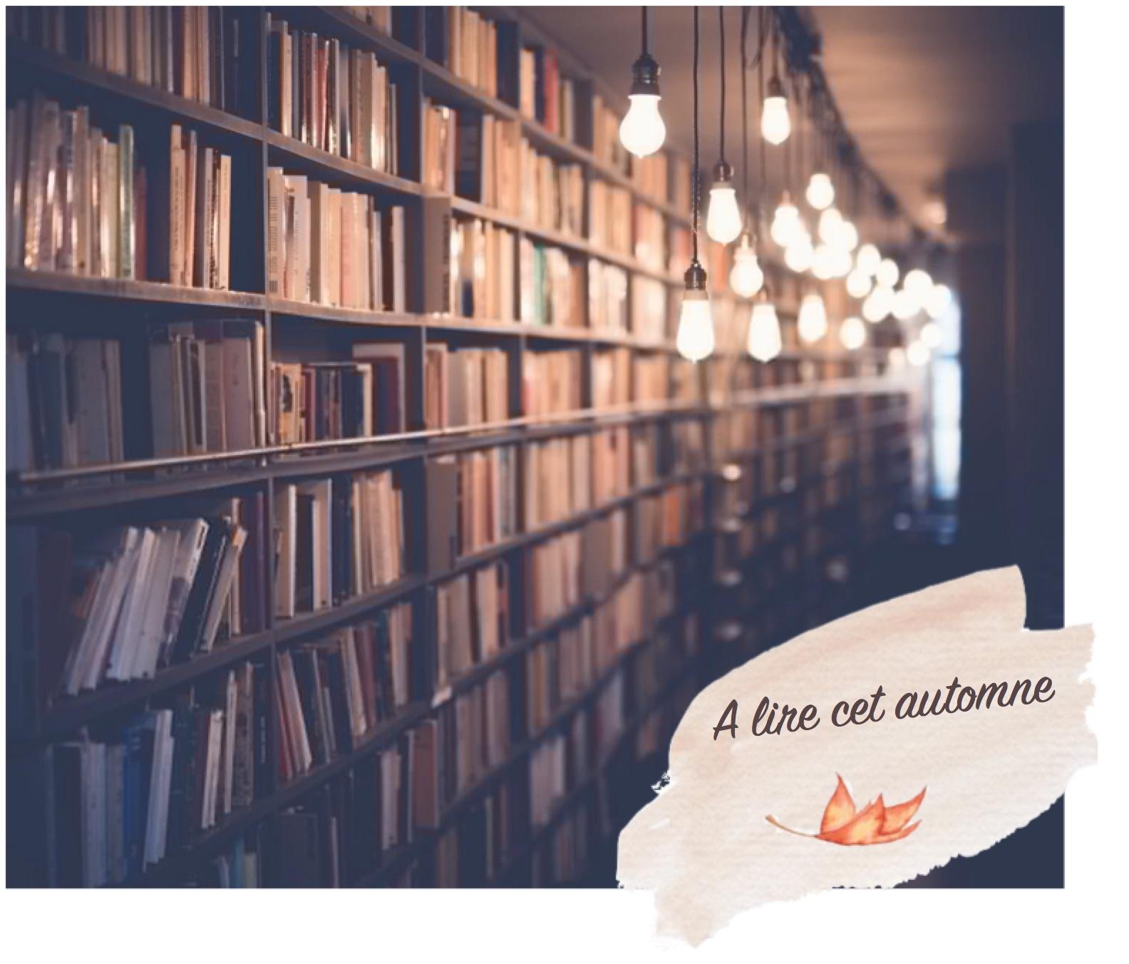 Les livres à lire cet automne