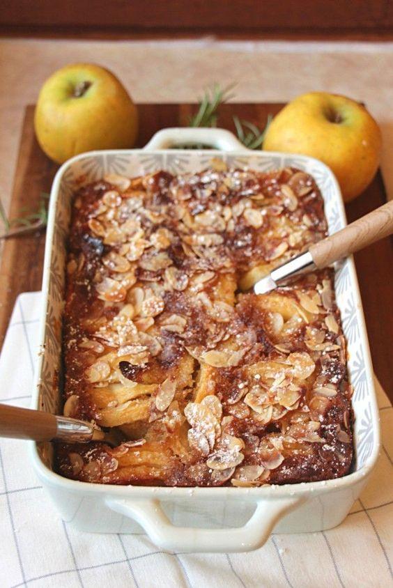 clafoutis aux pommes poires et amandes