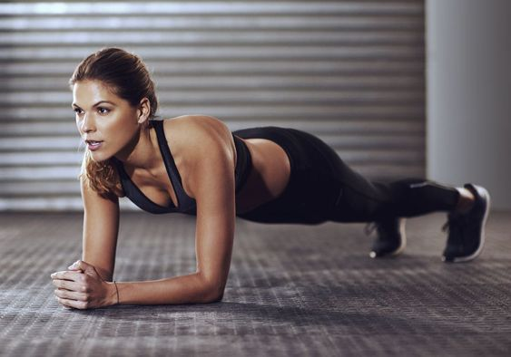 Gainage source pinterest elle france