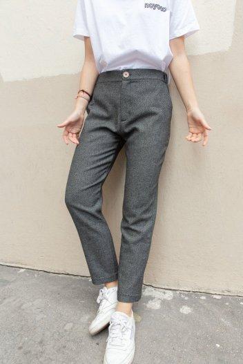 Pantalon stockholm laine recyclée - We dress fair