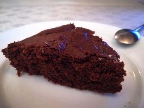 Part du gâteau au chocolat
