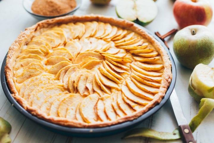 Recette de la tarte auxpommes