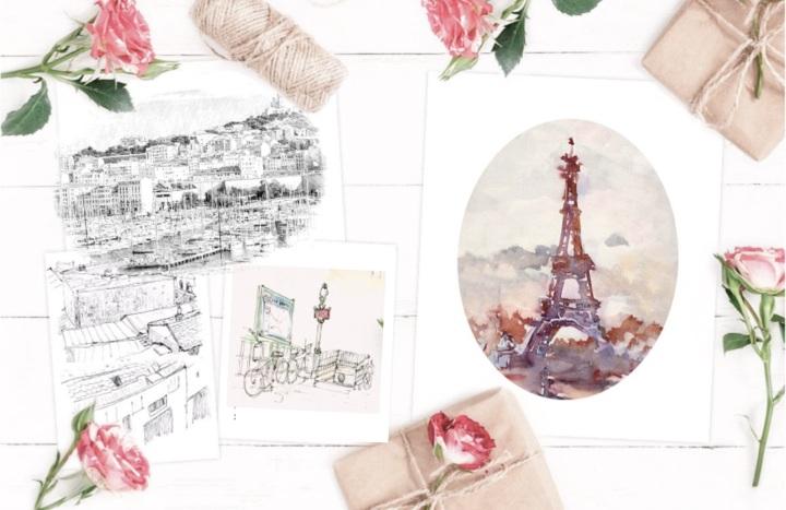 Voyage entre Paris et Marseille