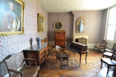 Le bureau du château de Chambord