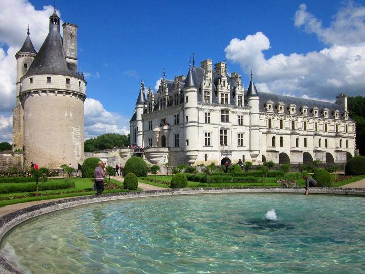 chenonceau-chateau loire