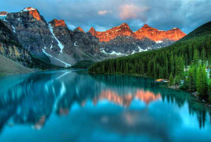 Lac Moraine Canada