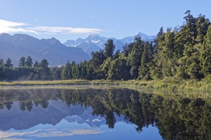 Nouvelle Zélande Lac Matheson