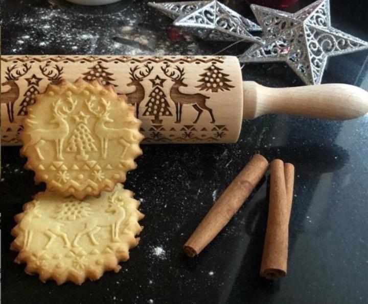 Rouleau a patisserie en bois