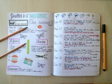 Bullet Journal A Faire, Envies - 24h01