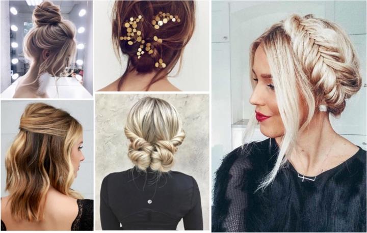 5 coiffures sublimes pour lesfêtes
