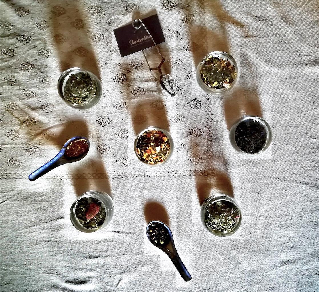 Le coffret de dégustation de thé Chabiothé