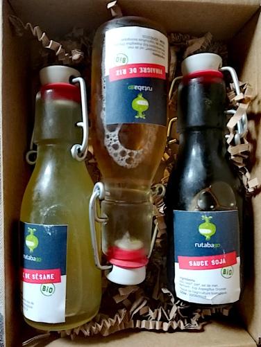 Les huiles et les sauces