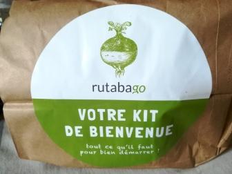 Le kit de bienvenue Rutabago