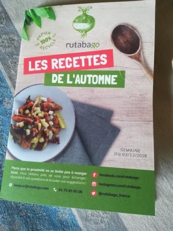 Les recettes de l'automne Rutabago