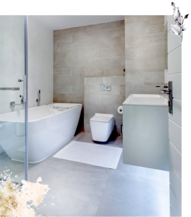 Salle de bain sol