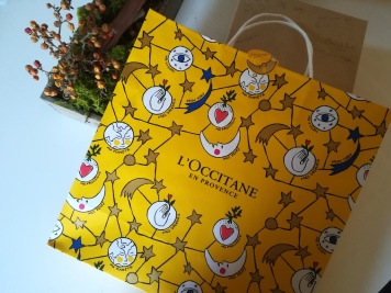 Emballage de l'Occitane