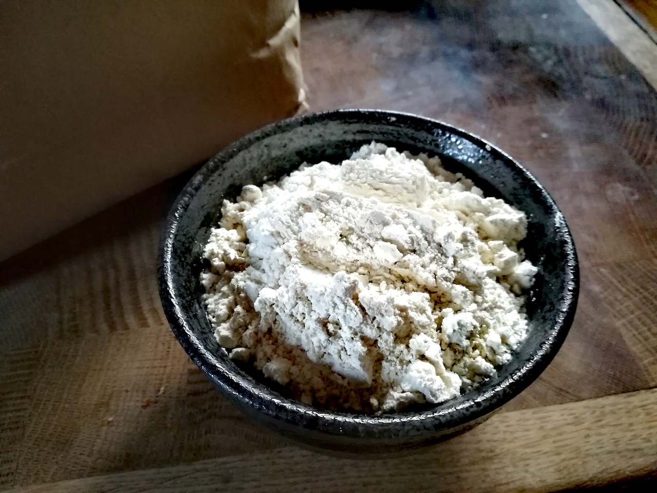 La farine complète de Kamut: un blé ancien