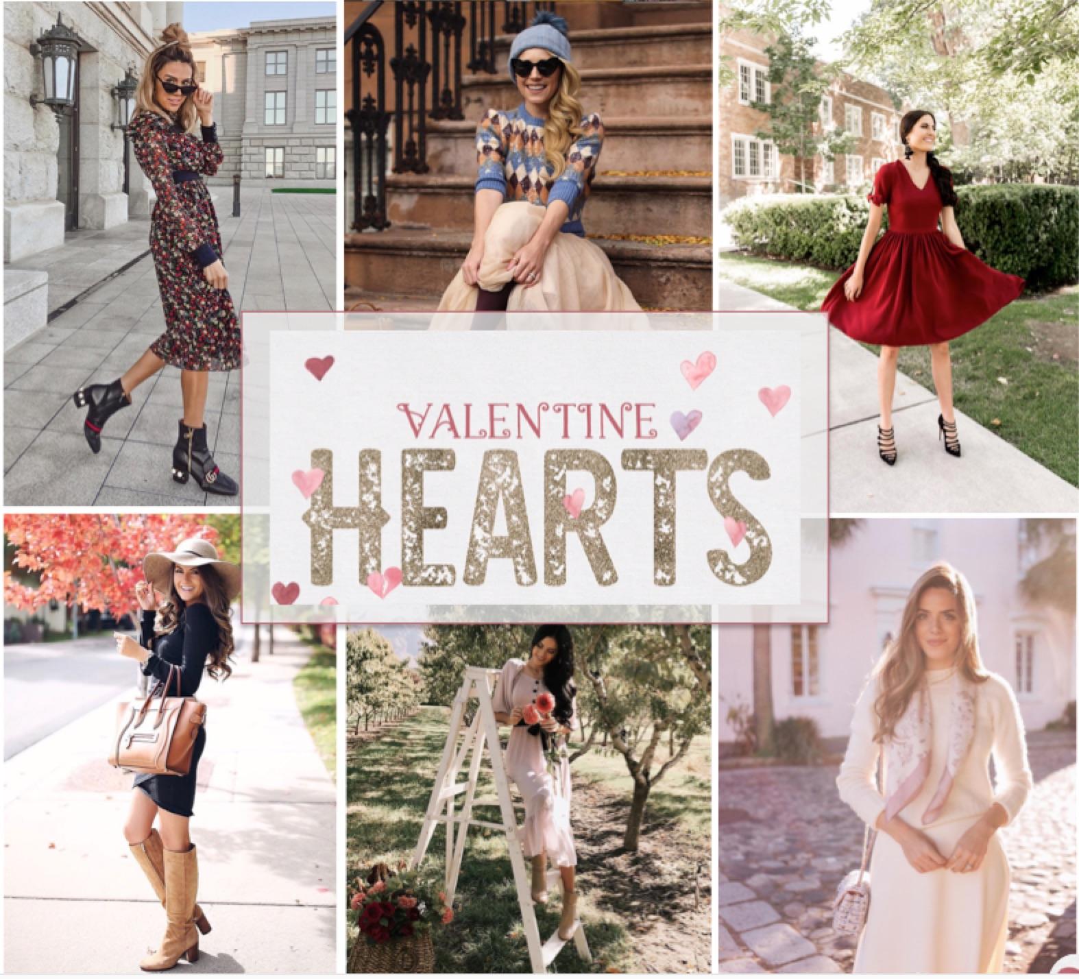 Idées de looks pour la Saint-Valentin