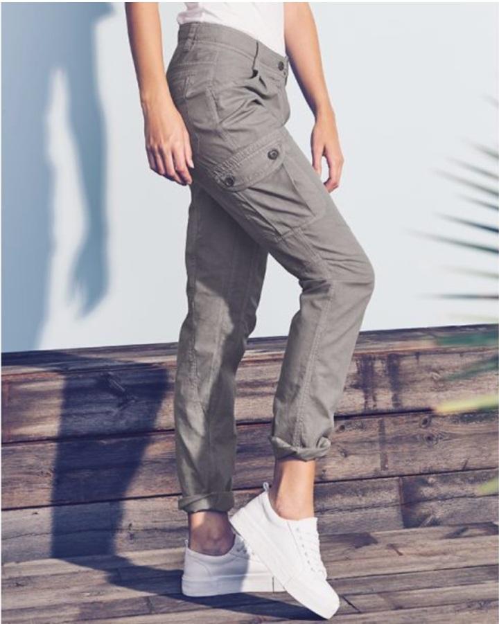 Pantalon cargo femme mode ethique