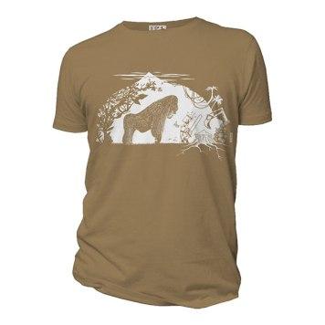 T-shirt gorille