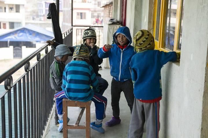 Enfants Népal orphelinat