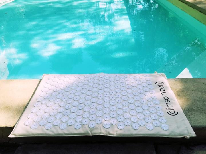 Le tapis d'acupression pour détendre et soulager lesdouleurs