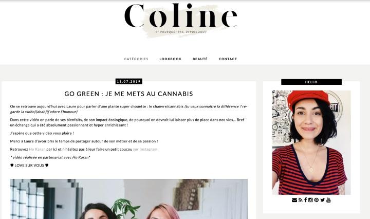 Blog Lifestyle Et pourquoi pas Coline