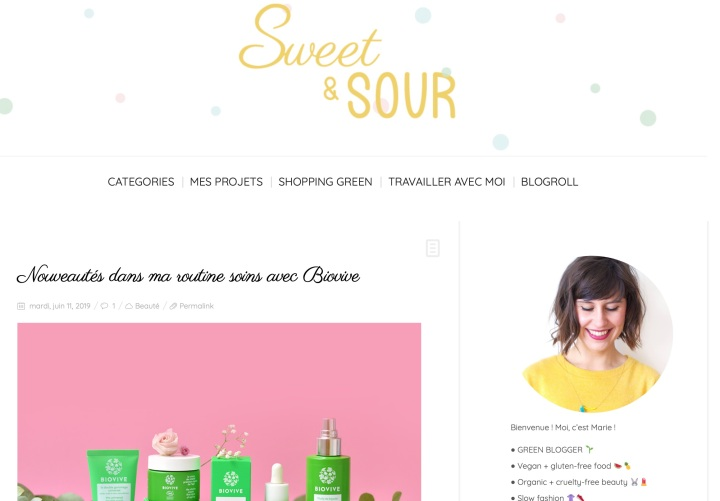 Sweet and Sour Blog Lifestyle
