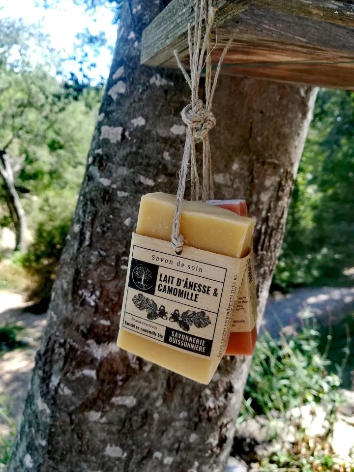 Savon et shampoing solides Savonnerie Buissonnière - Zoessentielle