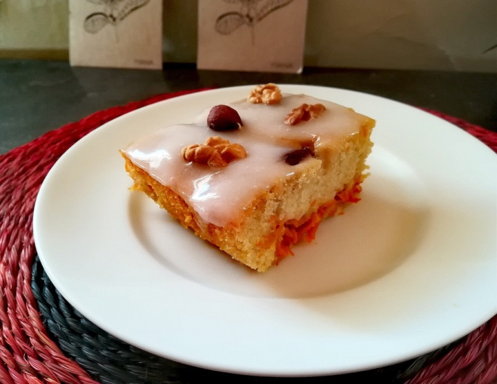 Recette du carrot cake (gâteau à lacarotte)