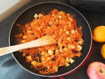 Cuisson pommes et carottes