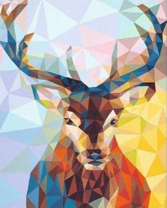 animal-peinture-cerf