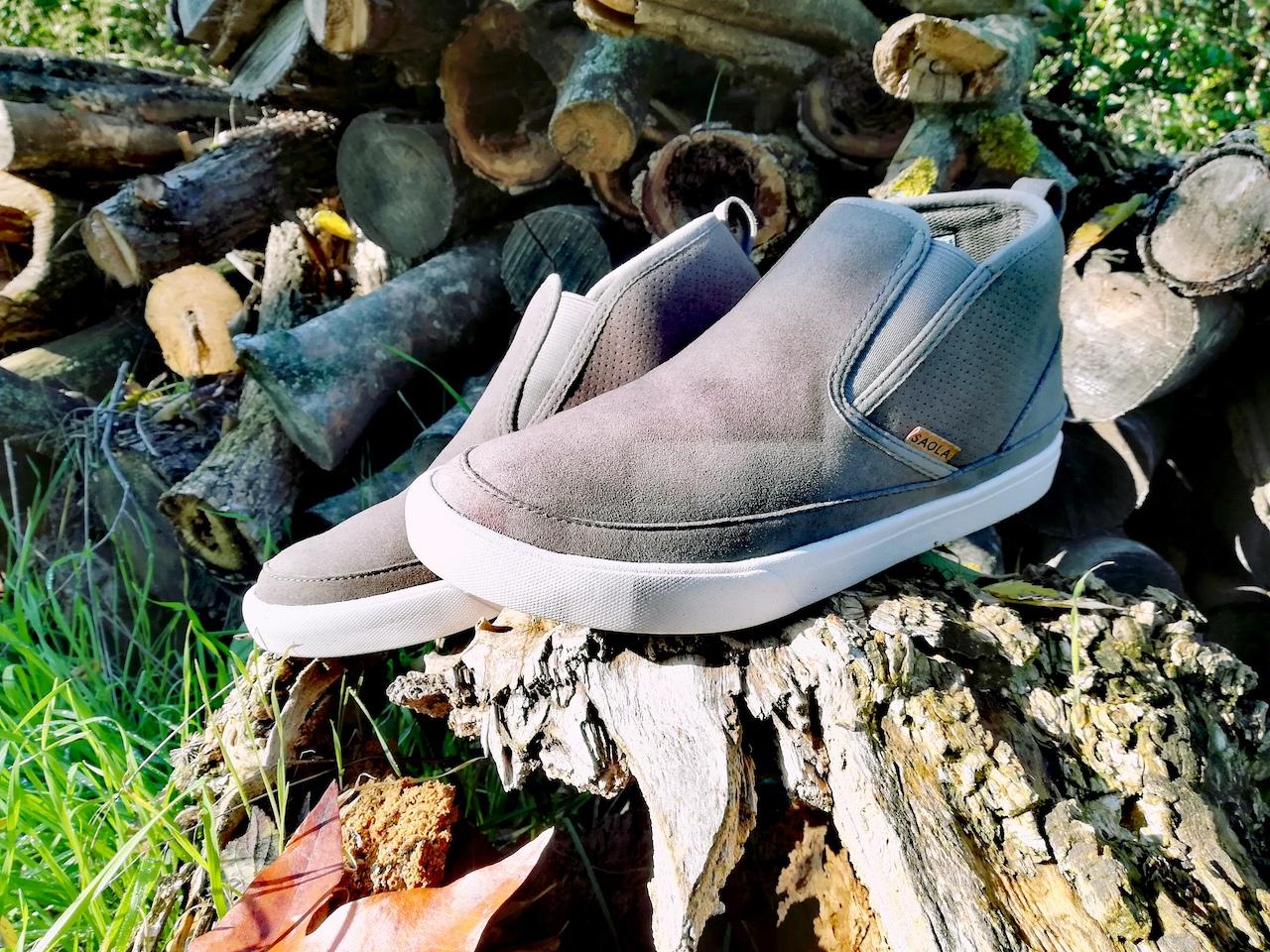 Des chaussures fabriquées à partir de bouteilles recyclées