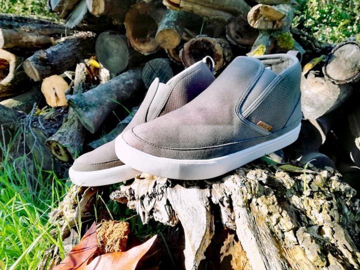 Des chaussures fabriquées à partir de bouteillesrecyclées