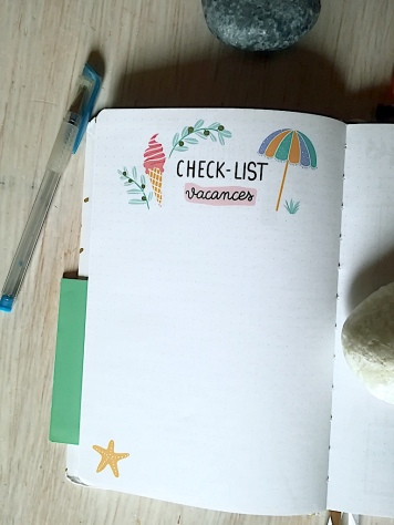 Check-list vacances