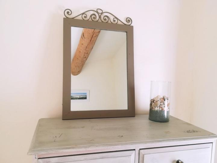 Rénover un miroirancien